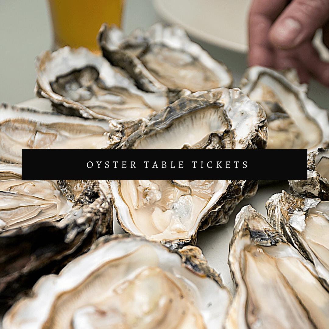 Oyster Roast Table (January 24)