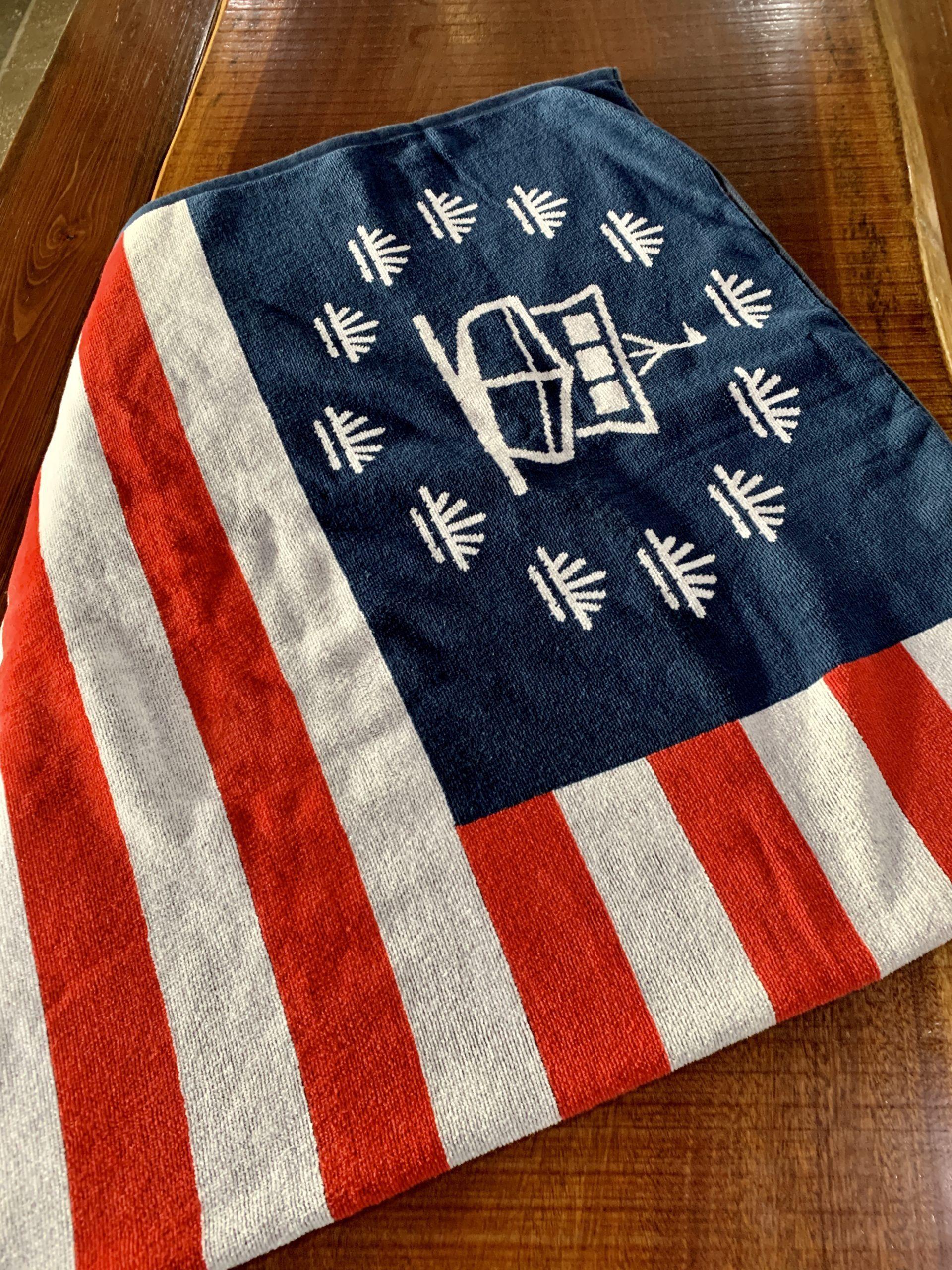 Beach Towel: Flag